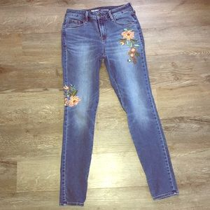 ON Embroidered Jeans